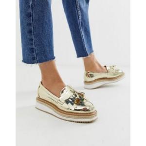 ASOS DESIGN Merit loafer flat shoes