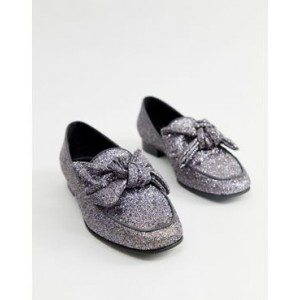 ASOS DESIGN My Girl bow loafer