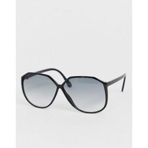ASOS DESIGN oversized 70s angular rectangular sunglasses