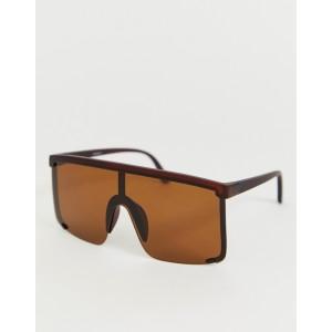 ASOS DESIGN oversized visor sunglasses