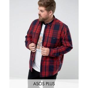ASOS DESIGN Plus quilted overshirt