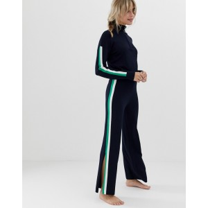 ASOS DESIGN premium lounge knitted sporty flare