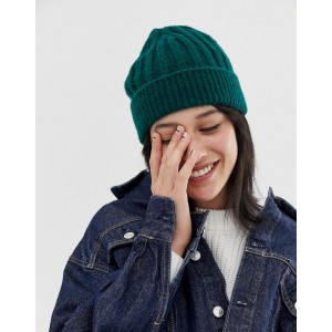 ASOS DESIGN ribbed knit beanie