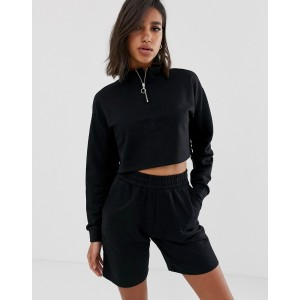 ASOS DESIGN short & zip up sweat set