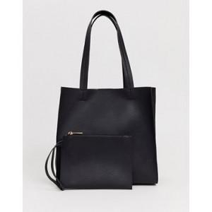 ASOS DESIGN square shopper bag