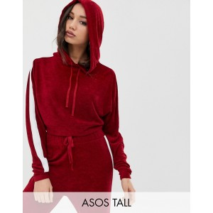 ASOS DESIGN Tall sporty side stripe hoodie