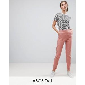 ASOS TALL Tailored Linen Cigarette Pants