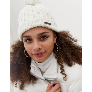 Billabong Good Vibes Only Beanie in White