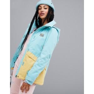 Billabong Kayla ski jacket in blue