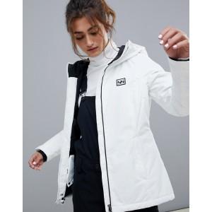Billabong Sula ski jacket in white