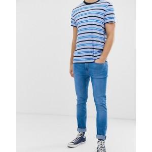 Burton Menswear skinny jeans in hyper blue