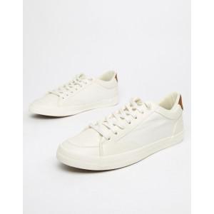 Burton Menswear sneakers in white