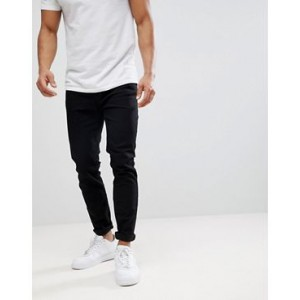 Burton Menswear tapered jeans in black