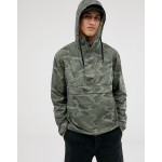 Columbia Challenger windbreaker in black camo