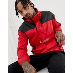 Columbia Challenger windbreaker in red