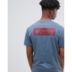 Columbia North Cascades Back Print T-Shirt in Blue