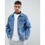 Diesel D-Robyn distressed denim jacket