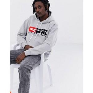 Diesel S-Division pullover hoodie in grey