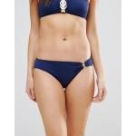 Dorina Navy Ring Detail Bikini Bottom