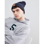 Element Dusk Pom Beanie In Navy