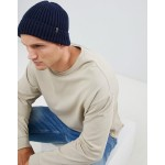 Esprit Fisherman Beanie In Navy
