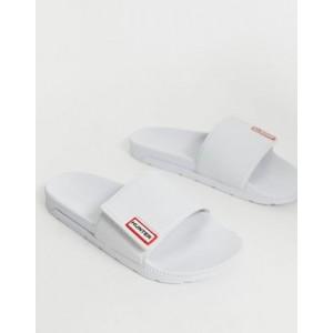 Hunter Original adjustable slides in white