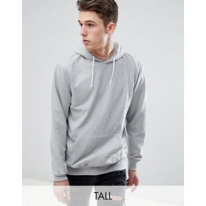 Jacamo Pullover Jersey Hoodie In Gray