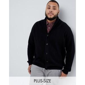 Jack & Jones Originals Plus Size shawl neck cardigan