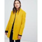 JDY collarless coat