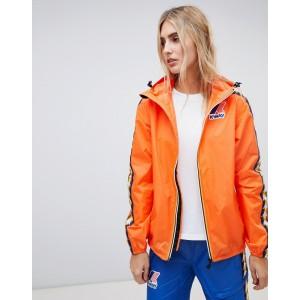 K-Way X Kappa zip through rain jacket