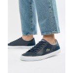 Lacoste Lerond BL 1 sneakers in navy