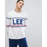 Lee 90s logo crew neck sweatshirt