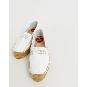 Love Moschino studded espadrilles