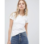 Mango Short Sleeved Basic Tee