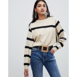 Mango stripe detail sweater