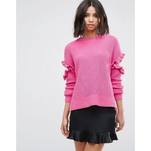 Miss Selfridge Frill Sweater