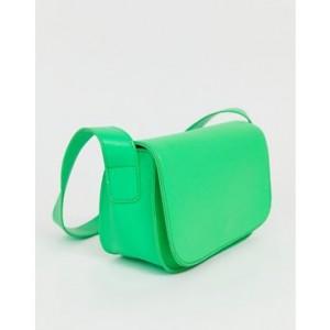 My Accessories London green neon shoulder bag