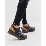 New Balance running Gobi trail sneakers in black