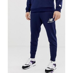 New Balance slim fit sweatpants in navy