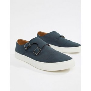 New Look monk shoes in navy