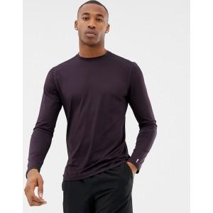 New Look SPORT long sleeved t-shirt in purple
