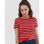 New Look Stripe Rib Tee
