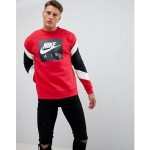 Nike Air Sweatshirt In Red 928635-687