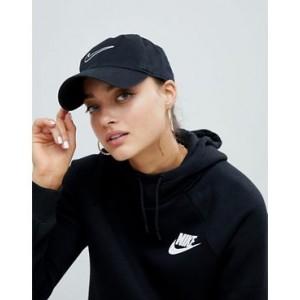 Nike Black essential swoosh logo cap