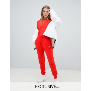 Nike Exclusive To Asos Red Swoosh Pack Sweatpants
