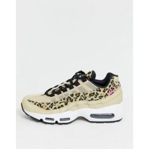 Nike Leopard Print Air Max 95 trainers