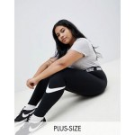 Nike Plus Black Logo Waistband Legasee Leggings