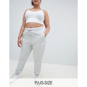 Nike Plus Rally Gray Swoosh Logo Sweatpants