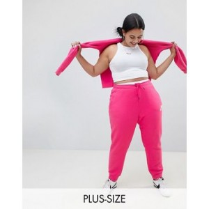Nike Plus Rally Pink Swoosh Logo Sweatpants