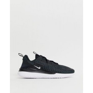 Nike Running Renew Arena Trainers In Black